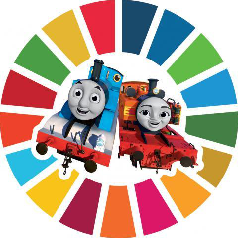Pictures of Thomas and friends (trains).