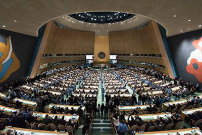 UN General Assembly in progress
